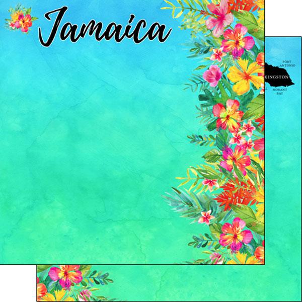 Scrapbook Customs Jamaica Getaway Scrapbook Kit