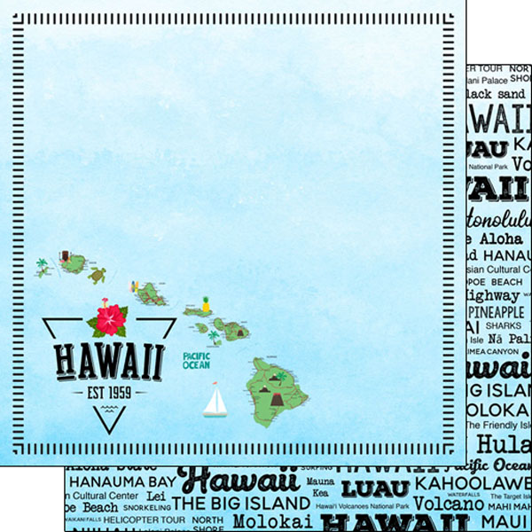Hawaii State Postage Paper