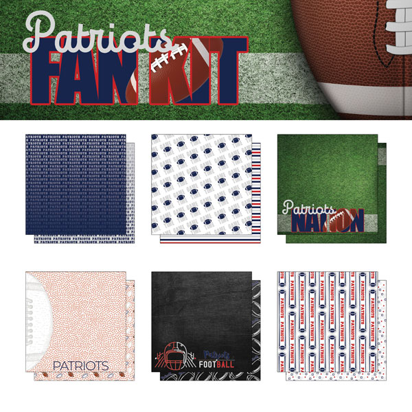 Patriots Fan Kit Paper