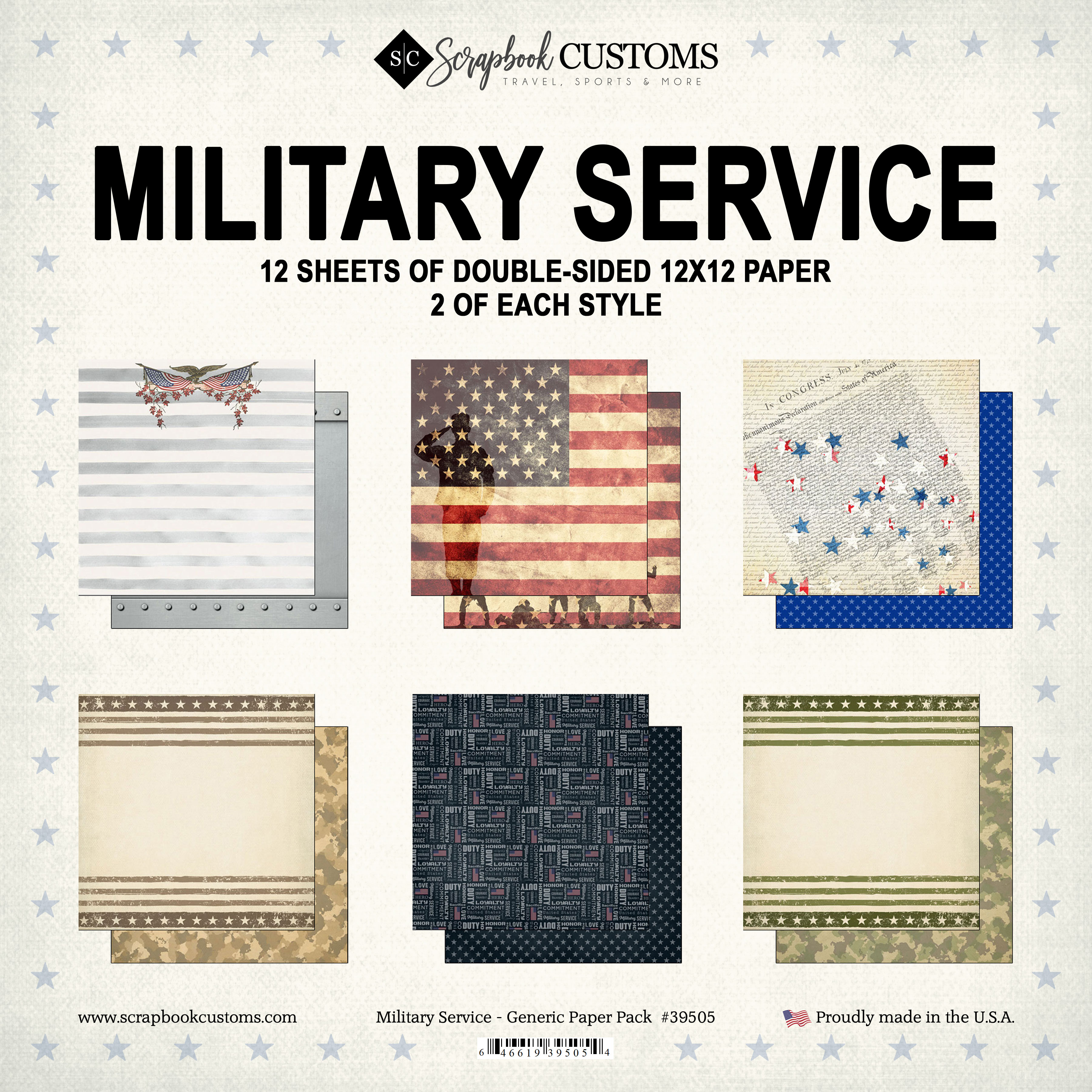 Military Service - Generic Paper Pack