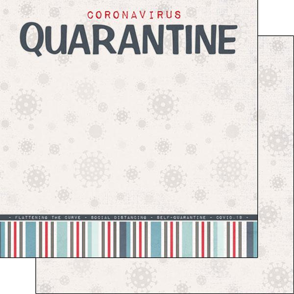 COVID-19 QUARANTINE TITLE DS PAPER #39873